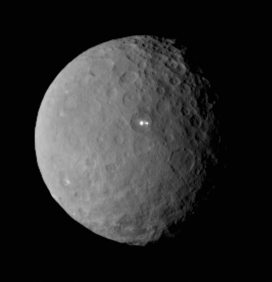 JPL photo of Ceres