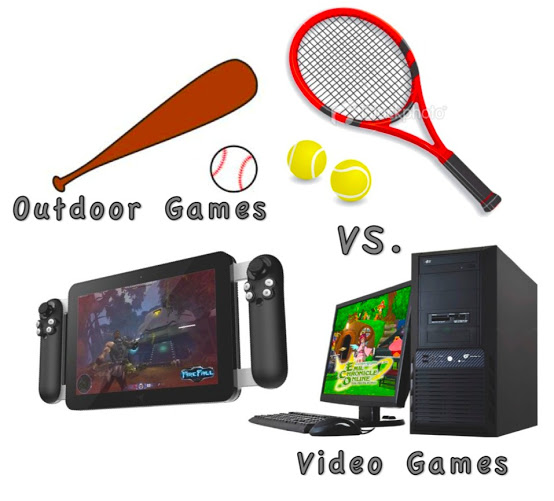 Video Games vs Outside Games